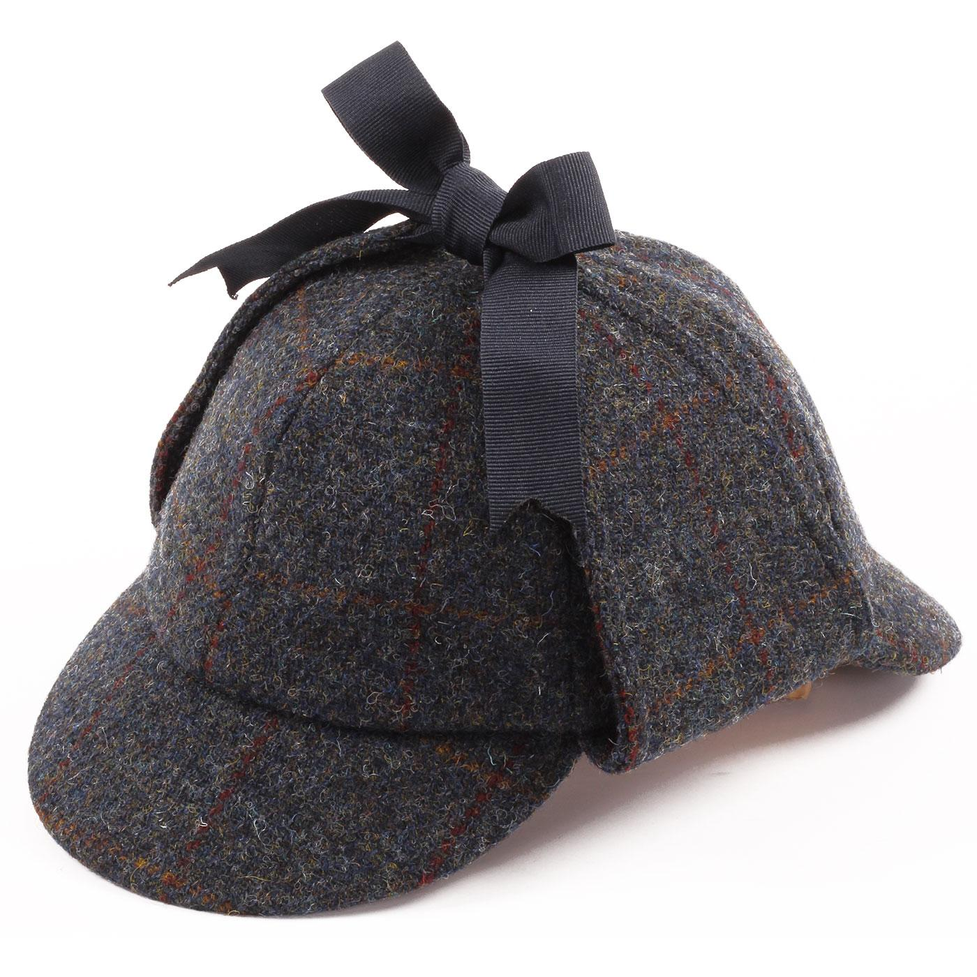 Sherlock FAILSWORTH Harris Tweed Deerstalker Hat B