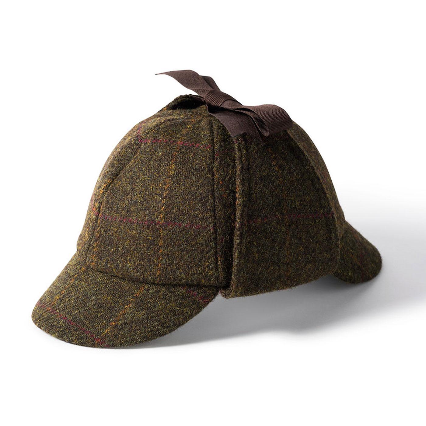 Sherlock FAILSWORTH Harris Tweed Deerstalker Hat
