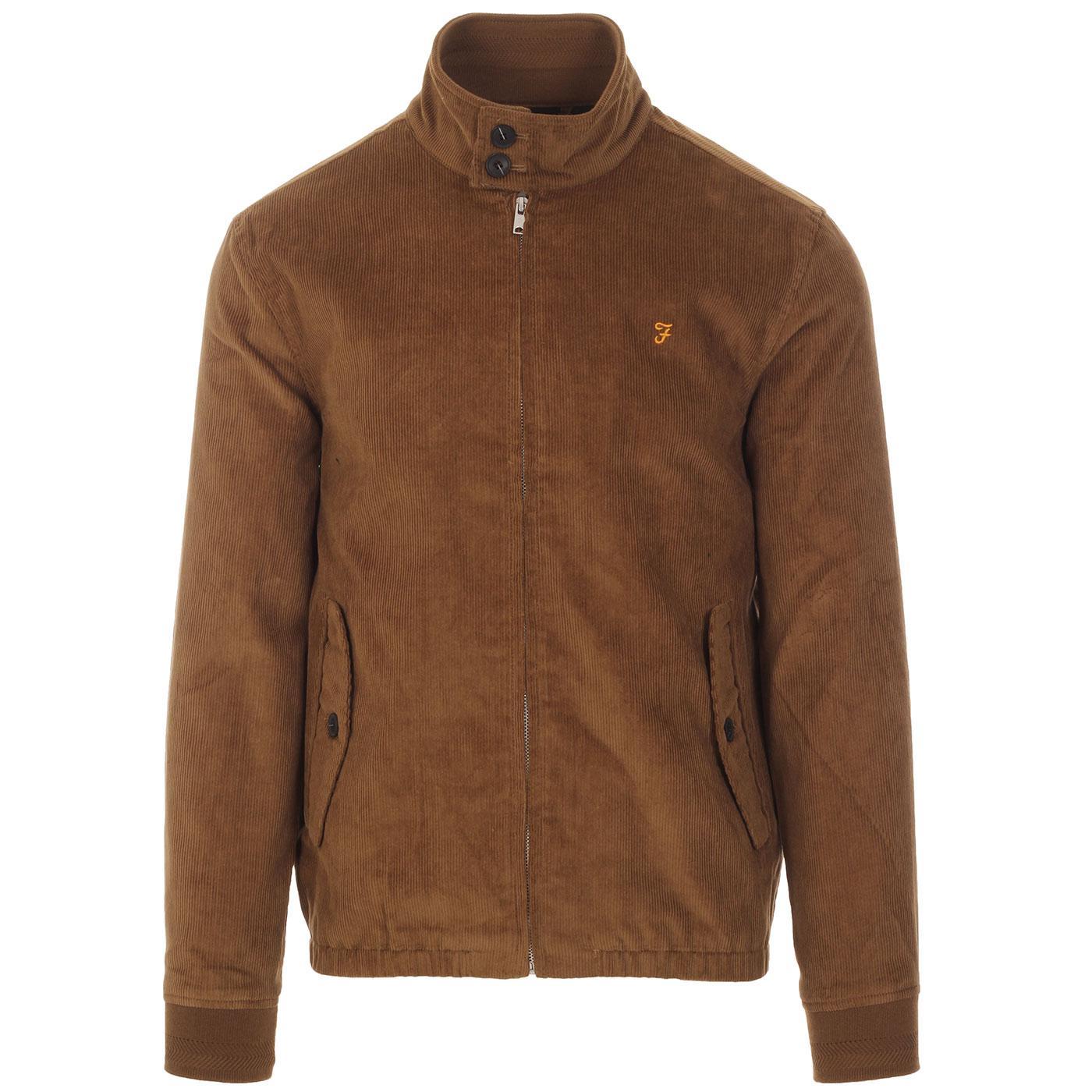 Bowie FARAH 100 Retro Mod Cord Harrington Jacket