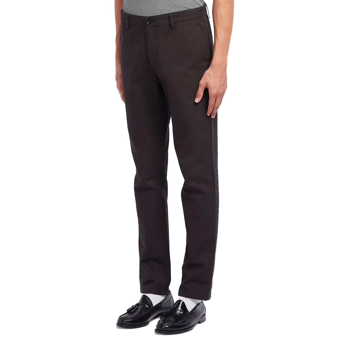 Elm FARAH Cotton Hopsack Regular Fit Trousers