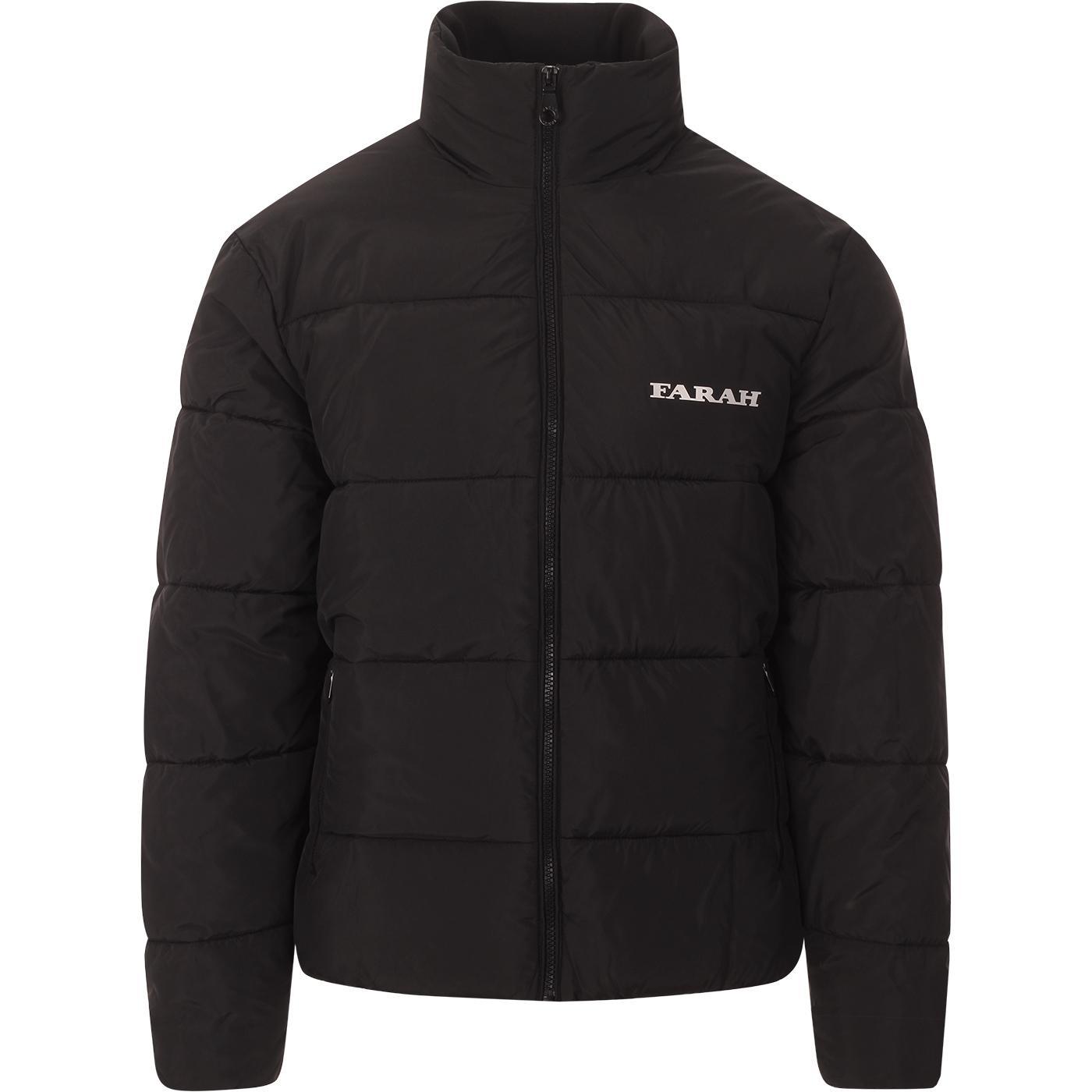 Dwight FARAH Retro Archive Wadded Coat (Black)