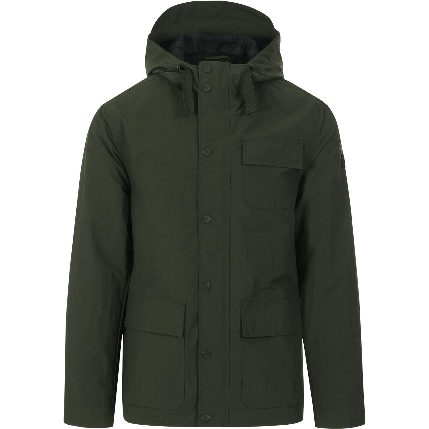 Hanley FARAH 100 Mod 3 Pocket Anorak Jacket (FG)
