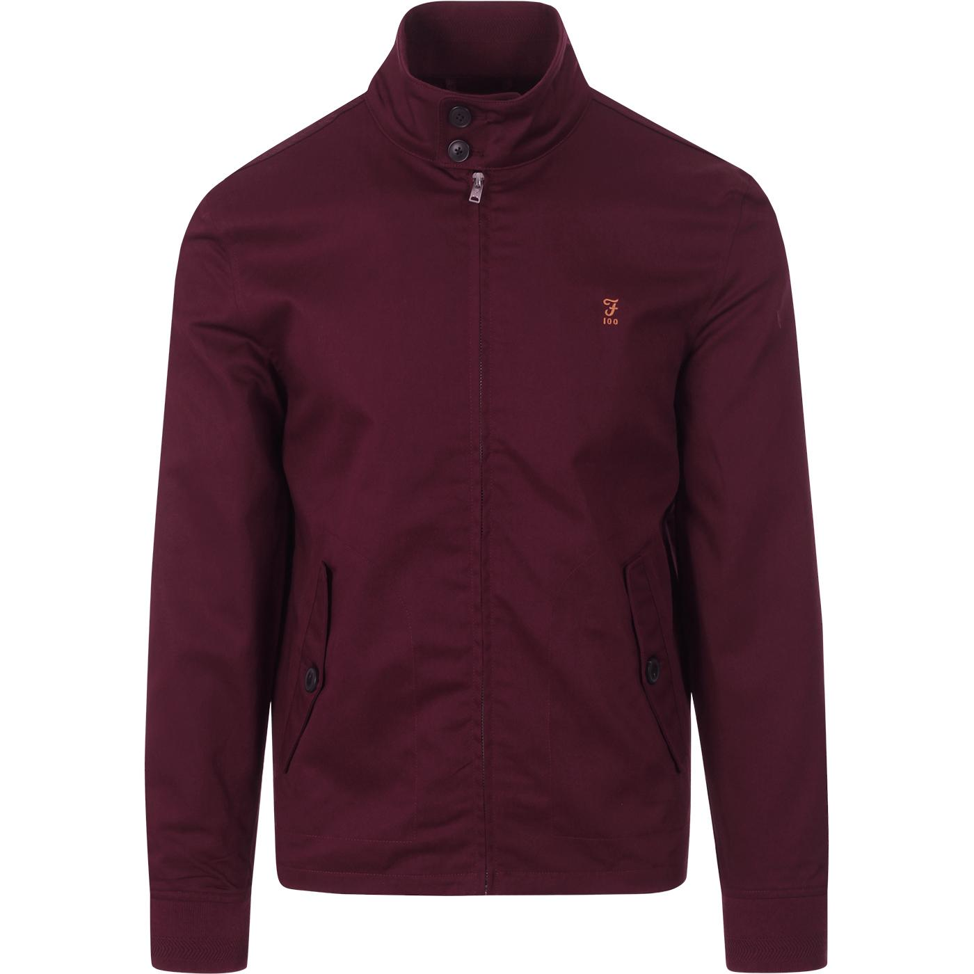 Hardy FARAH 100 Mod Harrington Jacket (Raspberry)