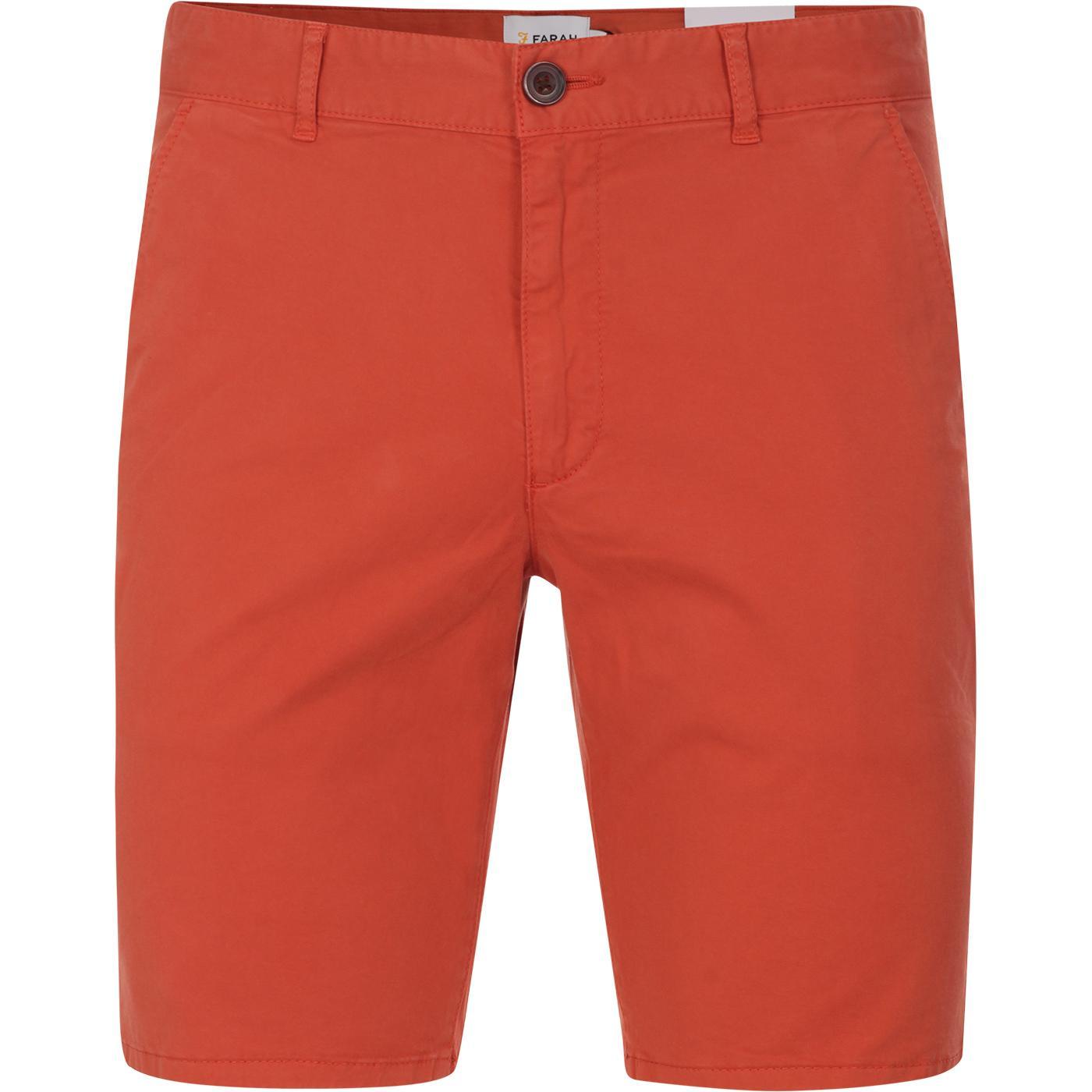 Hawk FARAH Retro Garment Dye Chino Shorts (TO)
