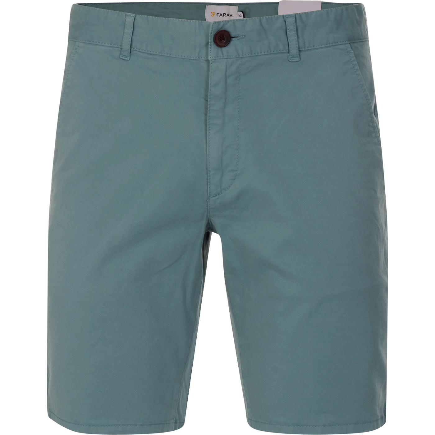 Hawk FARAH Retro Garment Dye Chino Shorts (RG)