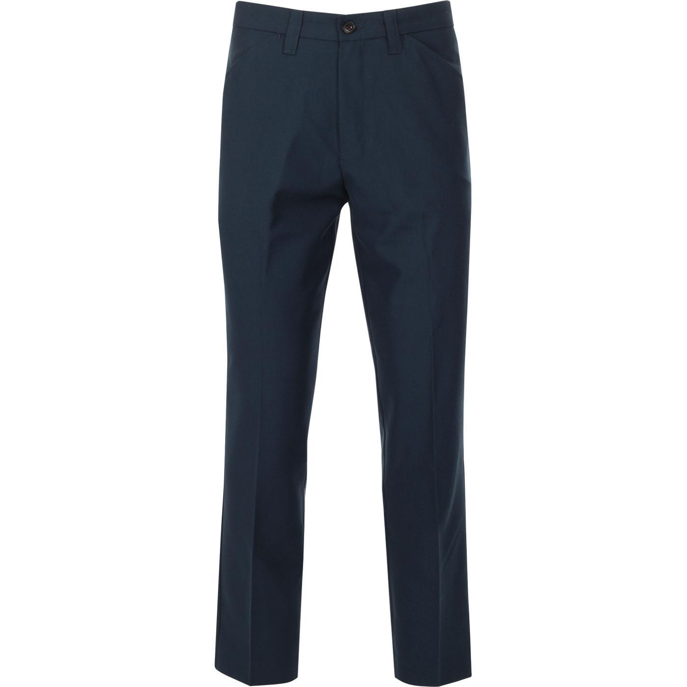 FARAH 100 Original Hopsack Weave Mod Trousers (T)