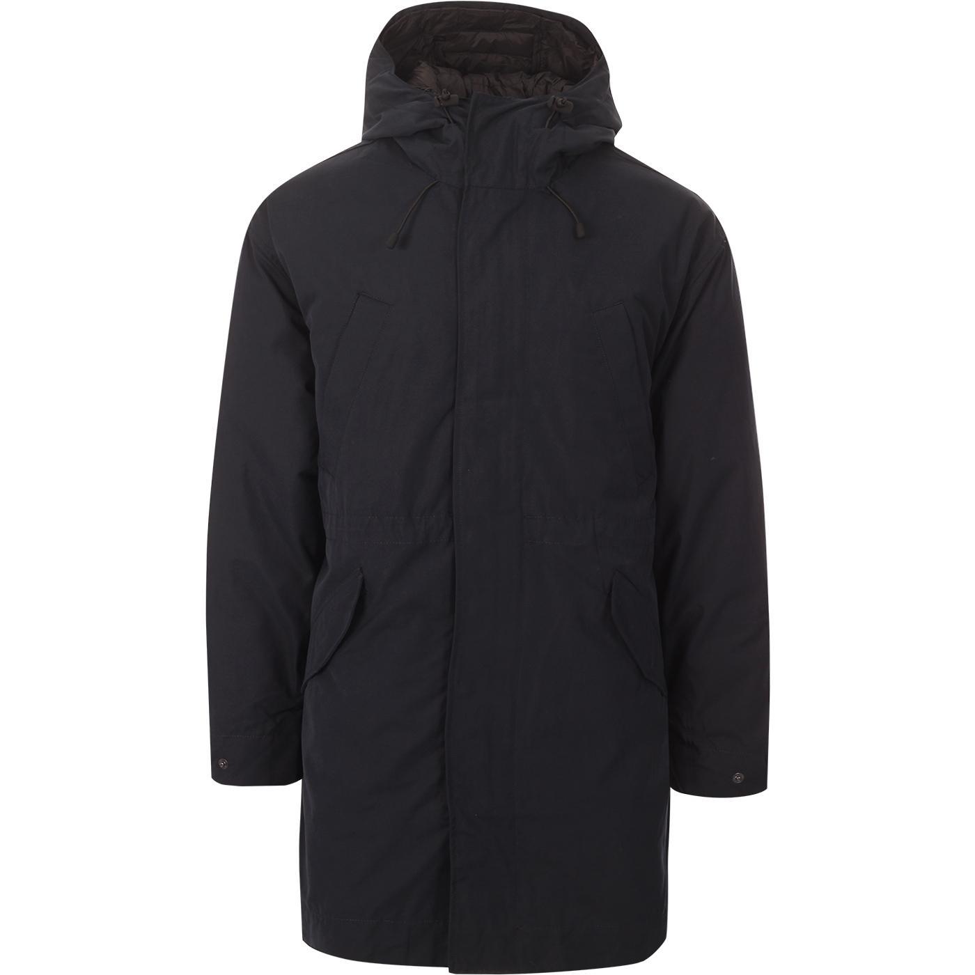 Melville FARAH Retro Mod Hooded Parka Jacket (TN)