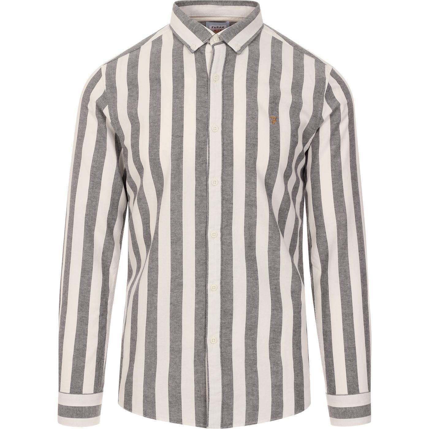 Milton FARAH 100 Mod Stripe BD Oxford Shirt (TN)