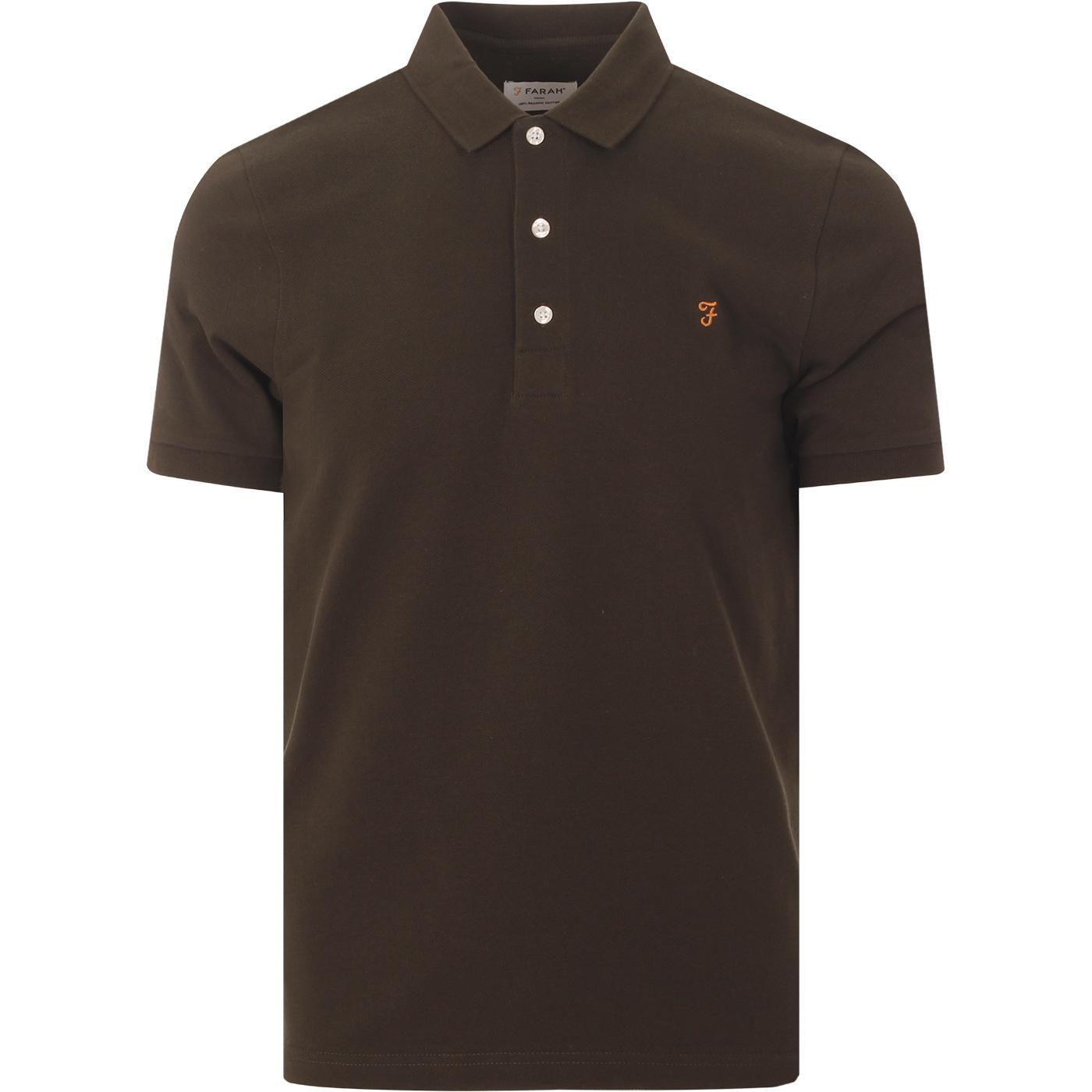 Blanes FARAH Mod Classic Pique Polo (Evergreen)