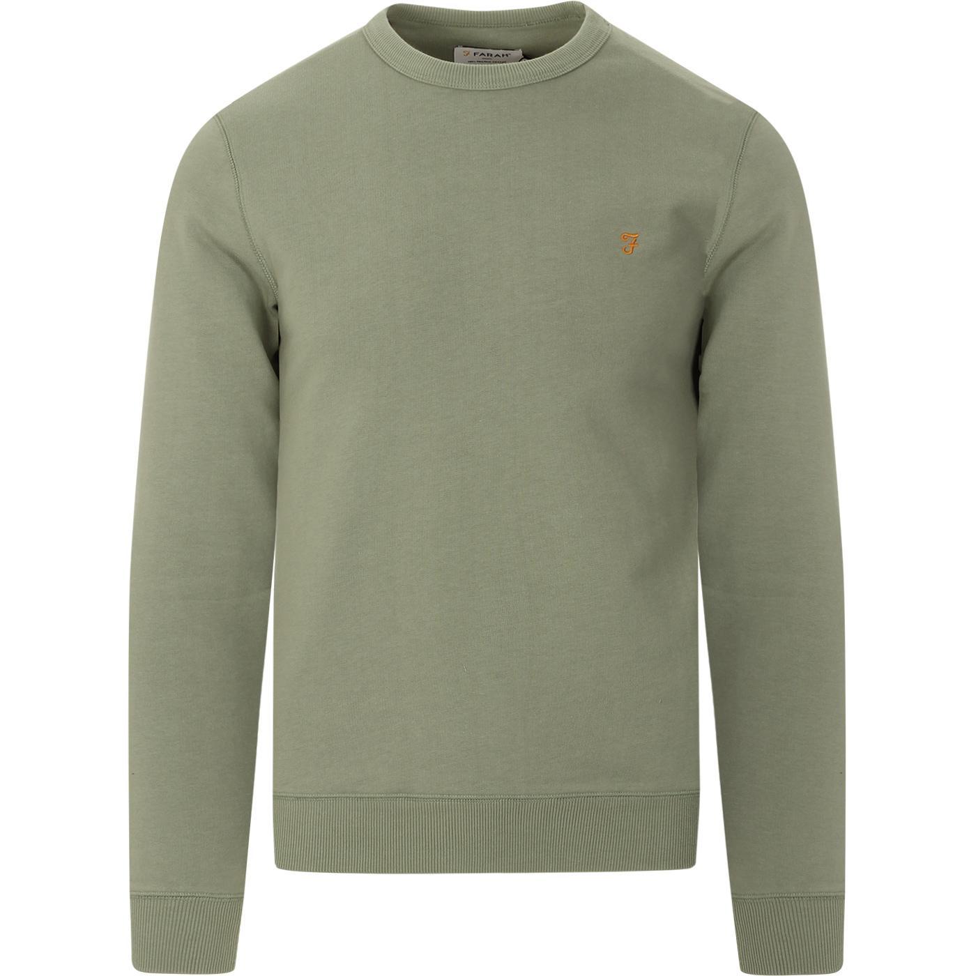 Tim FARAH Retro Crew Neck Sweatshirt (Lily Pad)