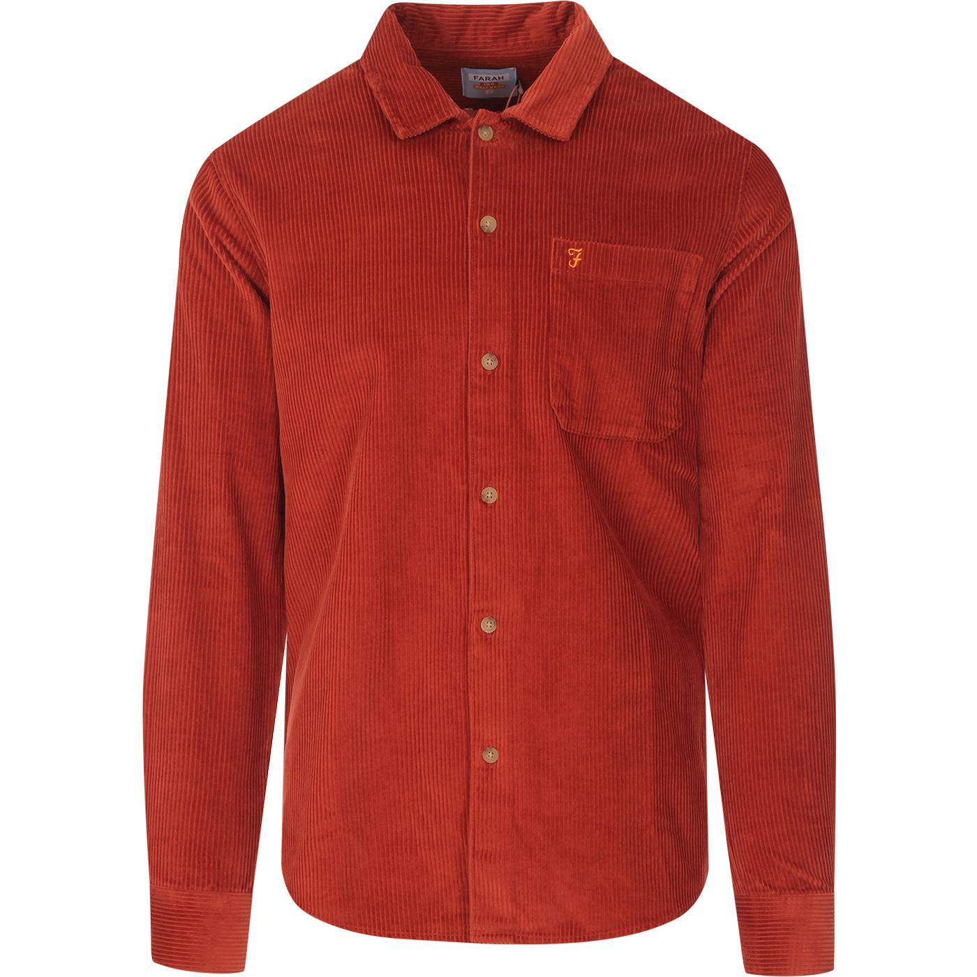 Wyman FARAH 100 Retro Jumbo Cord Overshirt (R)