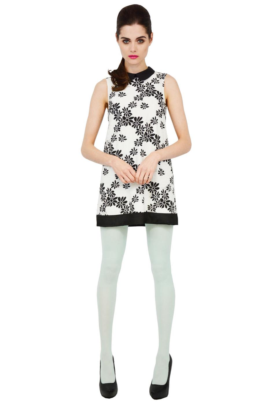 Feels Like Spring TRAFFIC PEOPLE Mod Floral Dress
