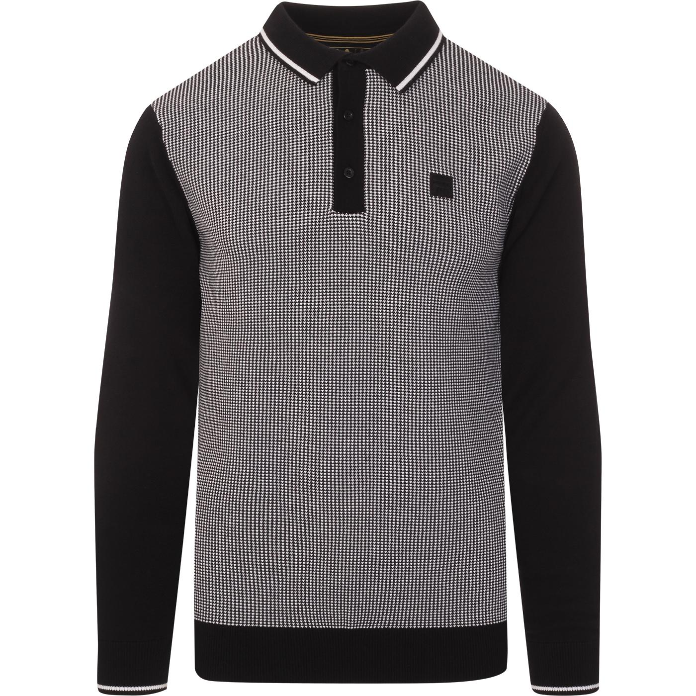 Brosway FILA VINTAGE Knitted Birdseye L/S Polo