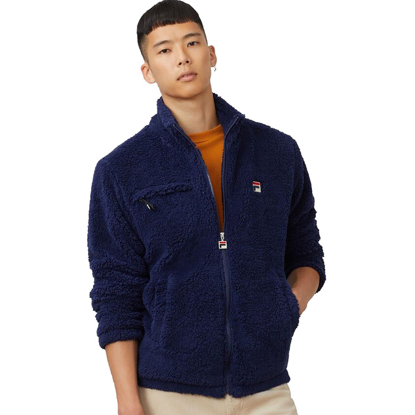 Bridgewater FILA VINTAGE Mens Zip Up Fleece Jacket