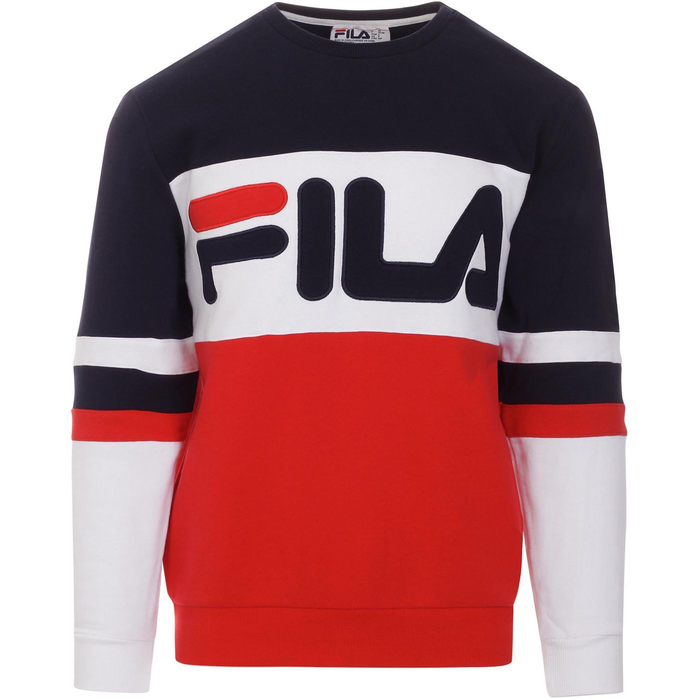 Freddie FILA VINTAGE Retro 1980s Logo Sweatshirt