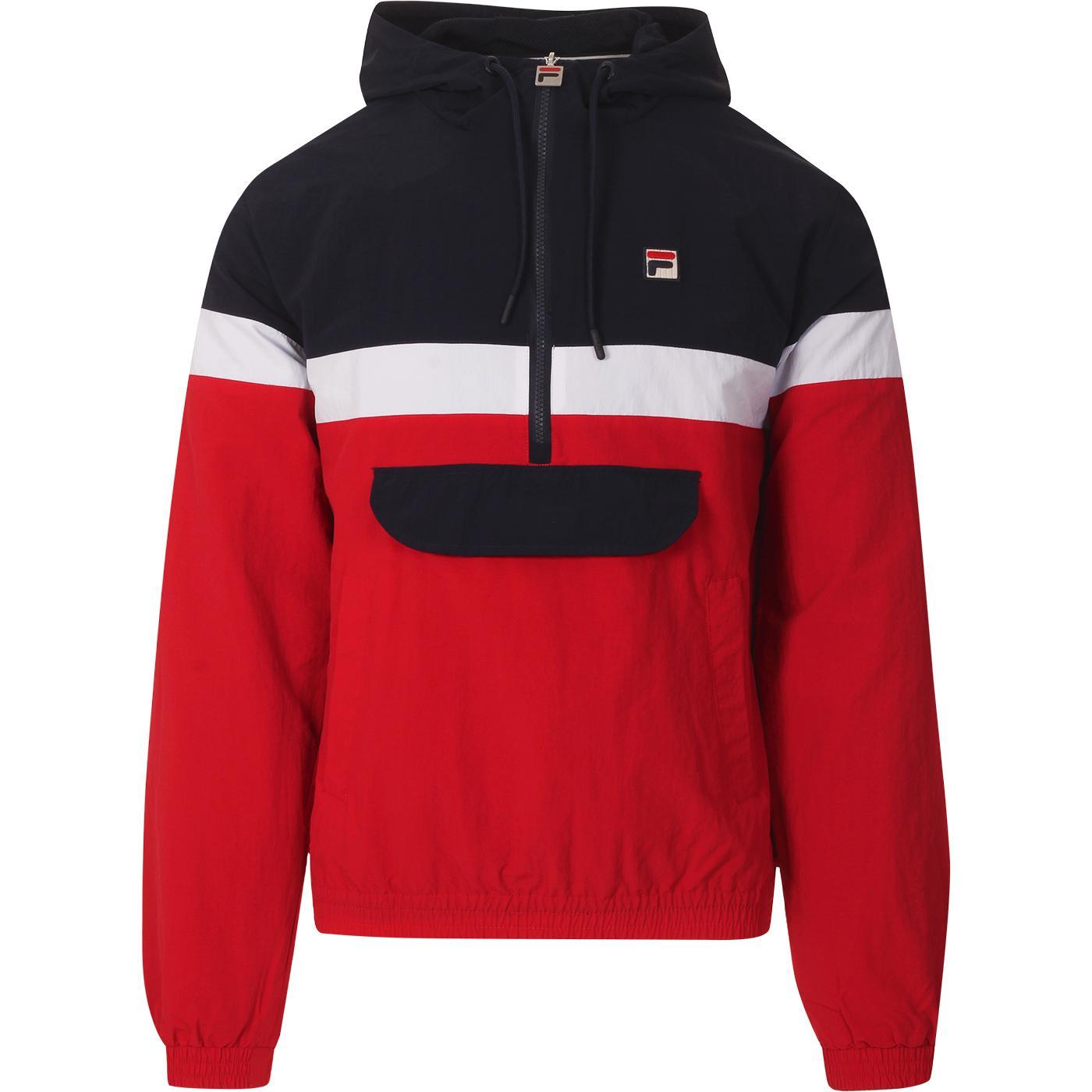 Jacoby FILA VINTAGE Retro Colour Block OH Jacket