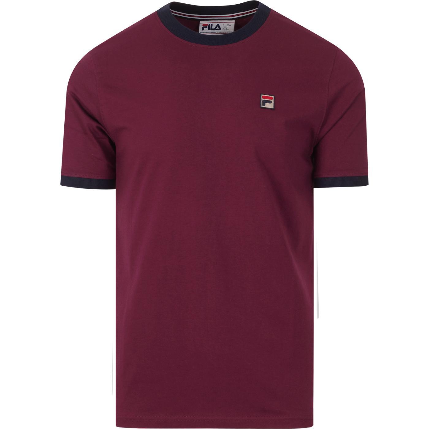 Marconi FILA VINTAGE Retro 70s Ringer T-shirt P/P