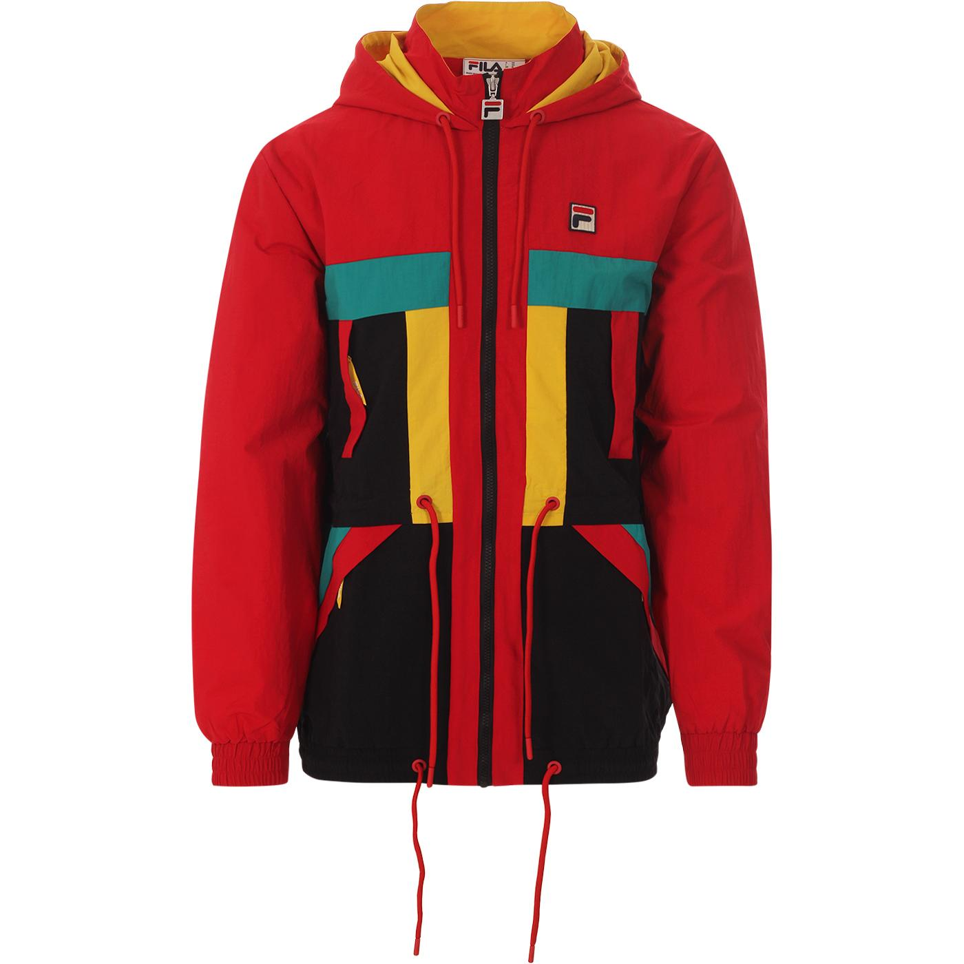 Marlin FILA VINTAGE Archive 80s Parka (Red/Black)