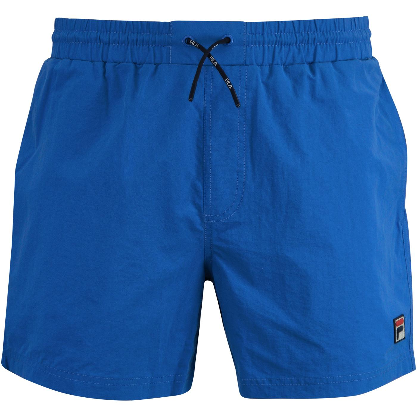 Martin FILA VINTAGE Retro 80s Basic Swim Shorts DB