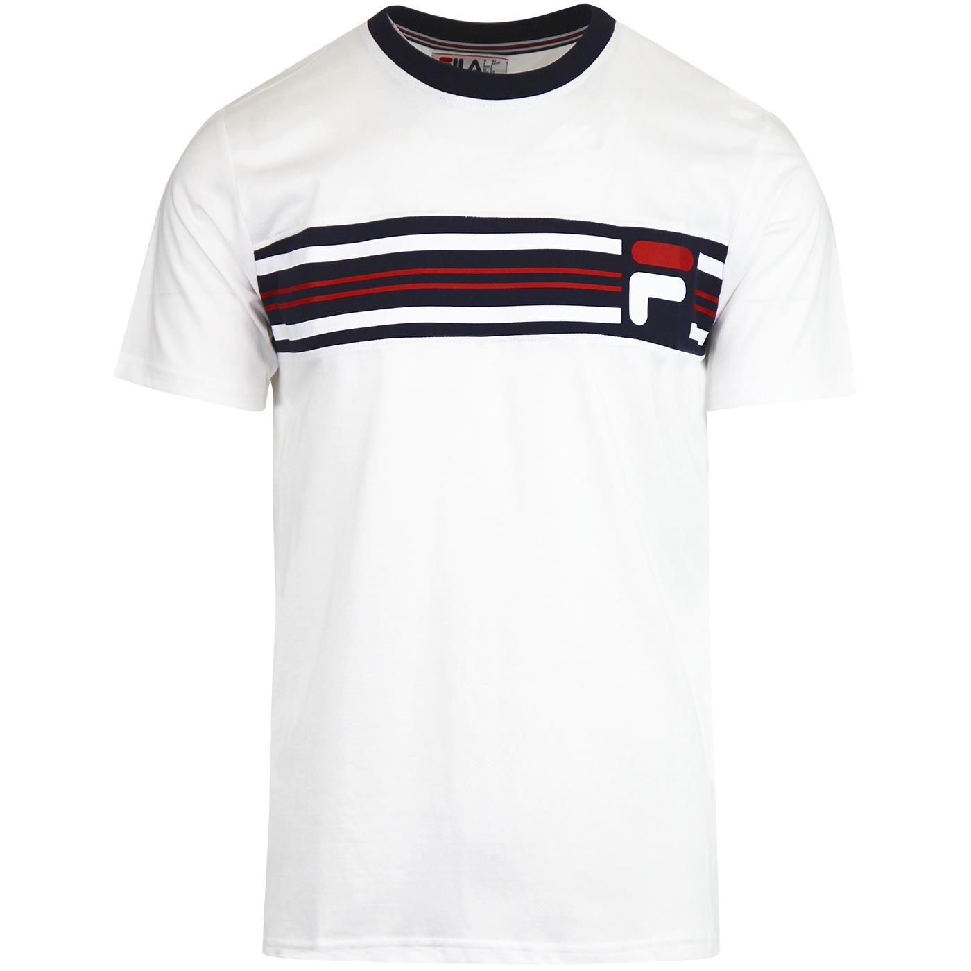 Bruno 3 FILA VINTAGE 1980s Cut & Sew T-shirt (W/P)