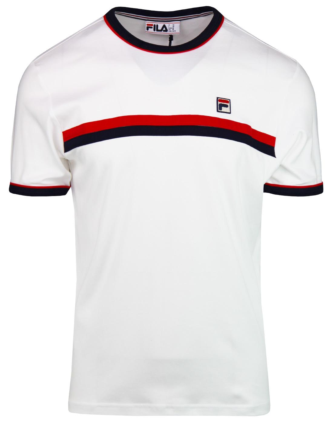 Razee FILA VINTAGE Retro Chest Stripe T-Shirt (W)