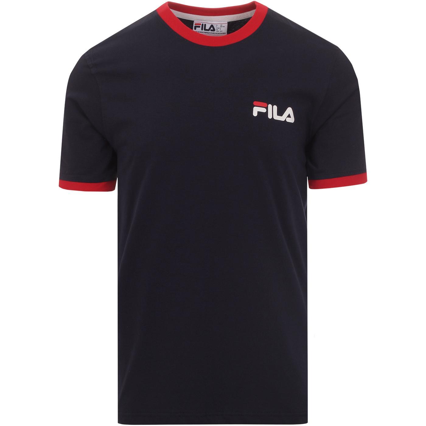 Roscoe FILA VINTAGE 90s Ringer T-shirt (Peacoat)