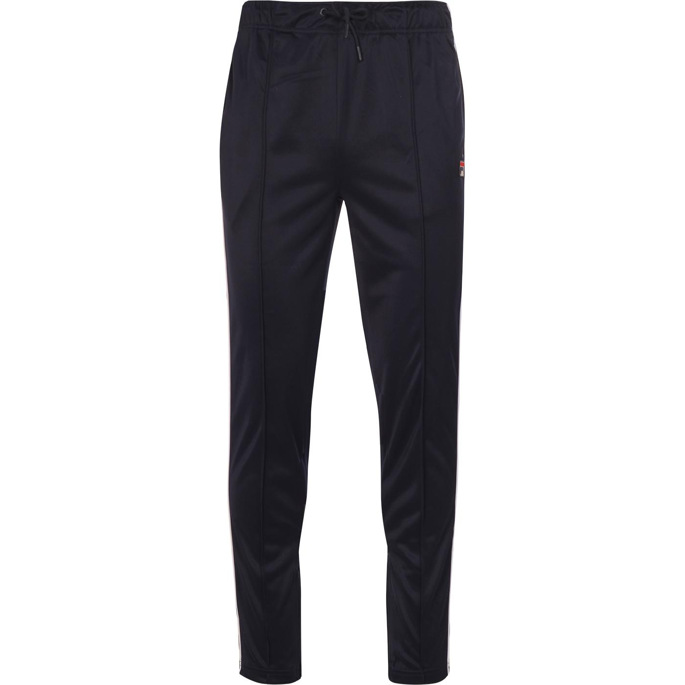 Terry FILA VINTAGE Retro 80s Piped Track Pants (P)