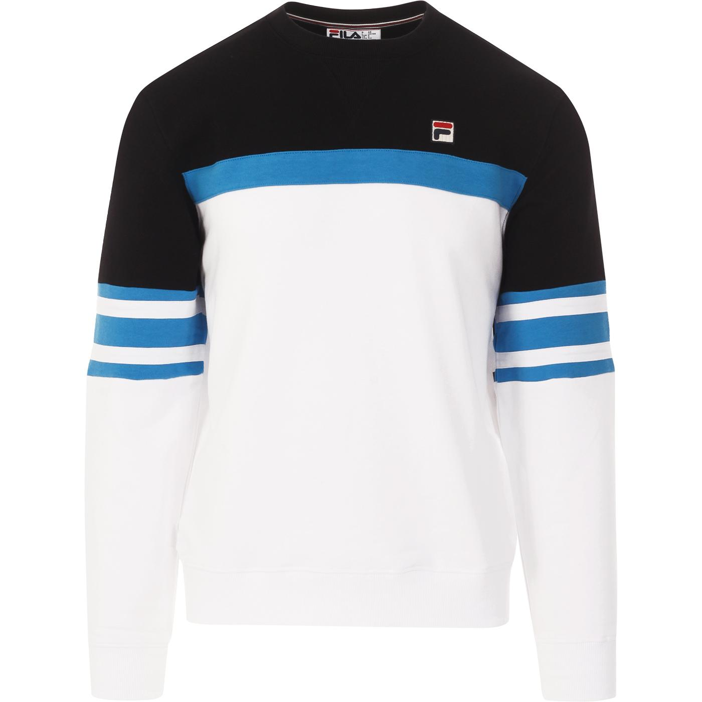 Verus FILA VINTAGE Colour Block Sweatshirt (W/B)