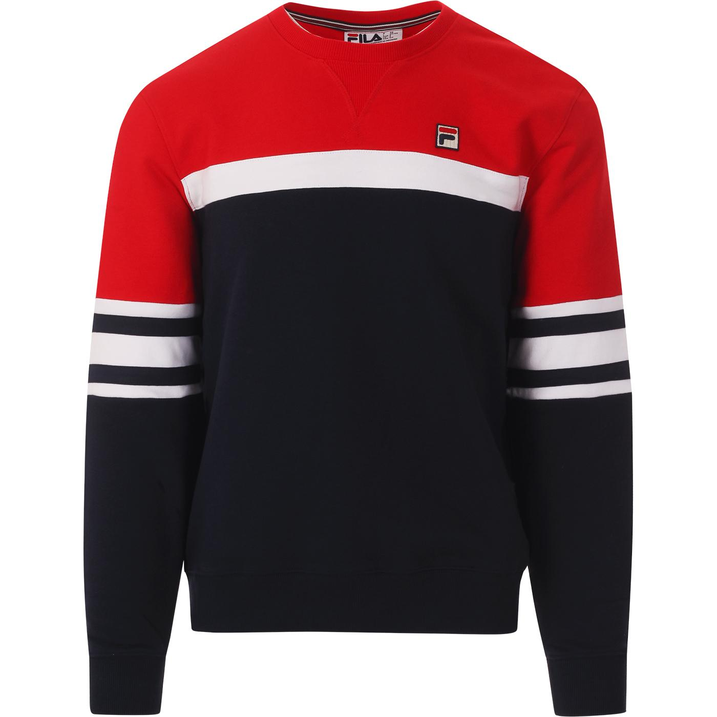 Verus FILA VINTAGE Colour Block Sweatshirt (P/R)