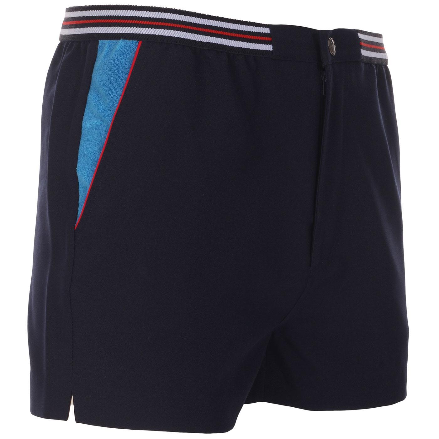 High Tide 4 FILA VINTAGE Retro 70s Tennis Shorts P