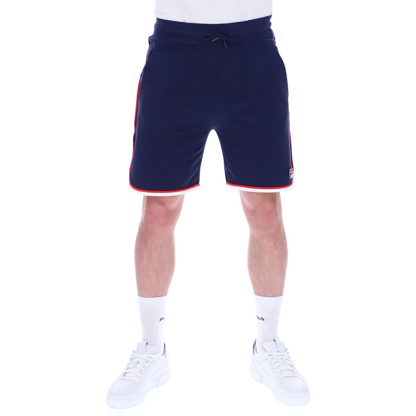 Brace FILA VINTAGE Stripe Trim Shorts (Peacoat)