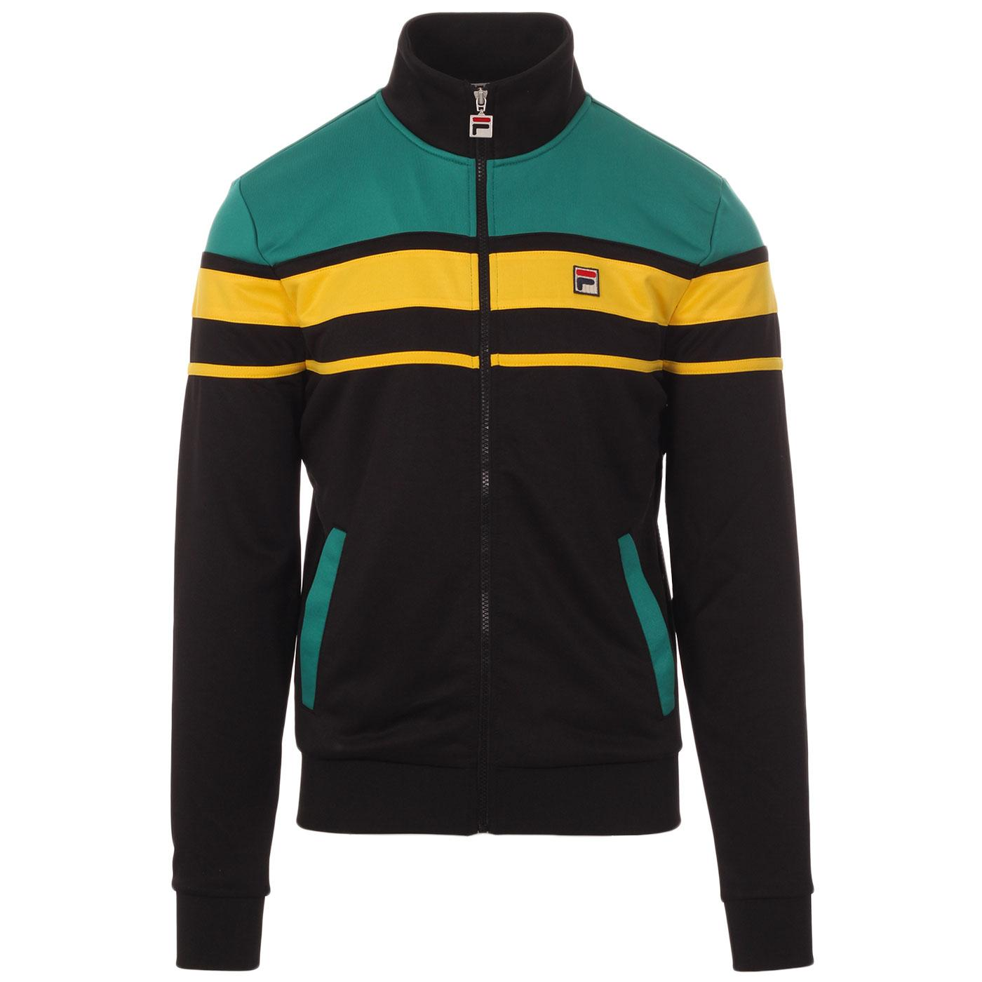 Gordon FILA VINTAGE 80s Stripe Track Jacket (B/P)