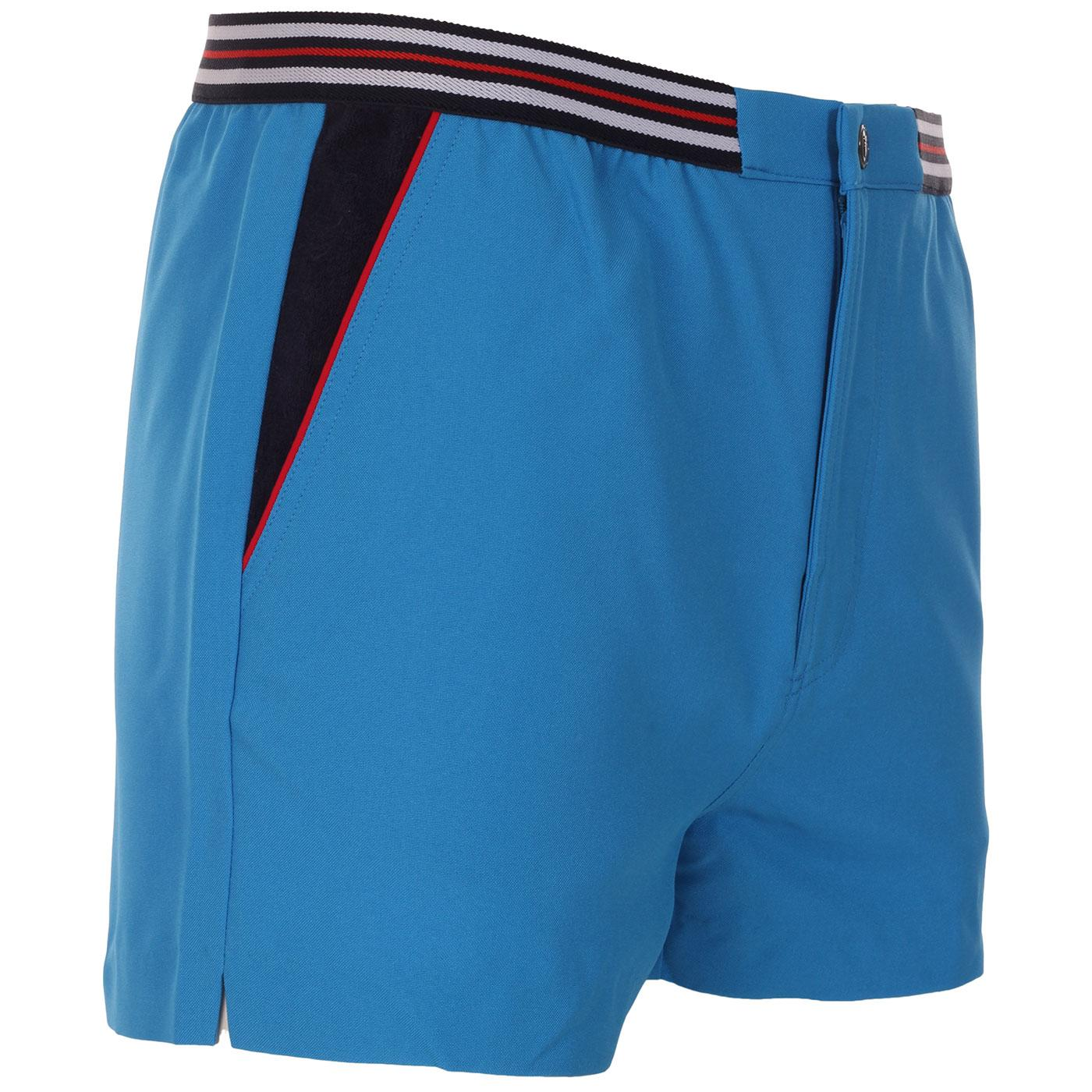 High Tide 4 FILA VINTAGE Retro Tennis Shorts (BA)