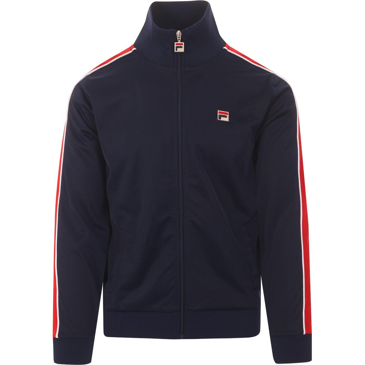 Wicks FILA VINTAGE 80s Stripe Sleeve Track Jacket