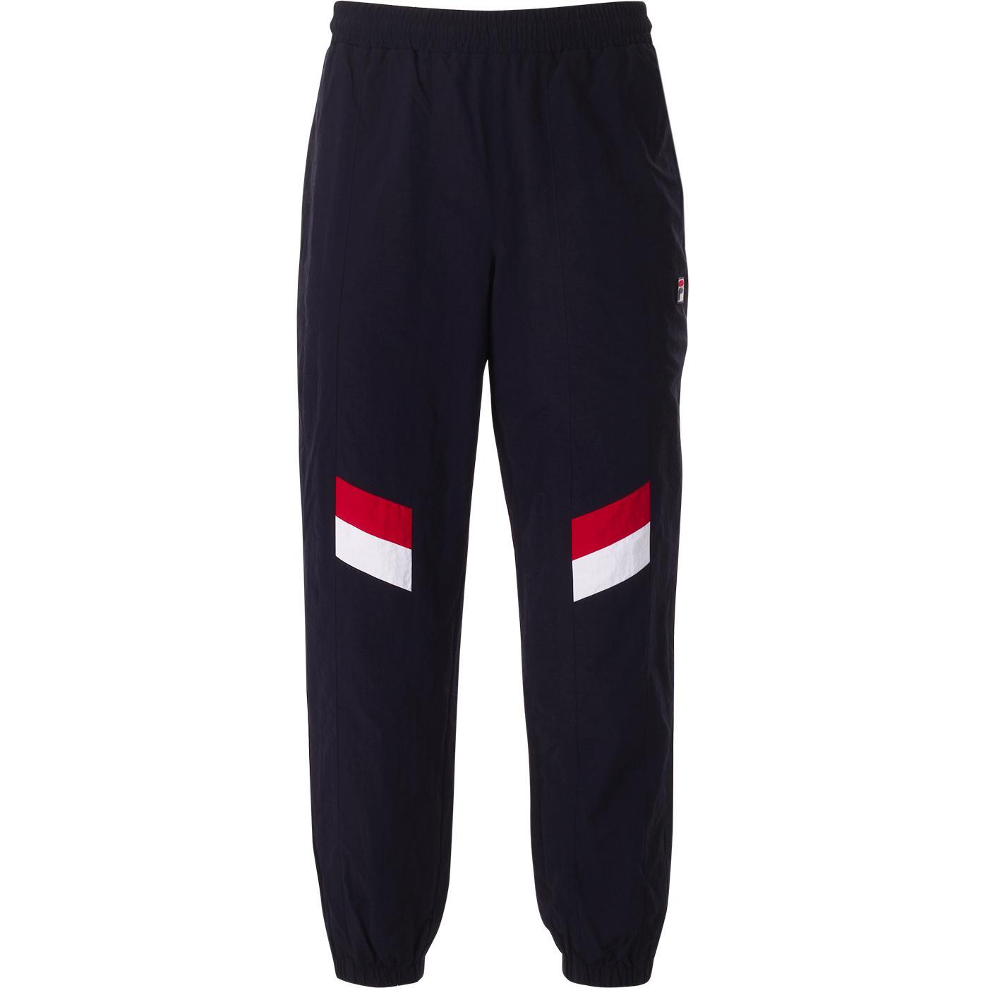 Zaim FILA VINTAGE 80s Wrinkle Nylon Track Pants P