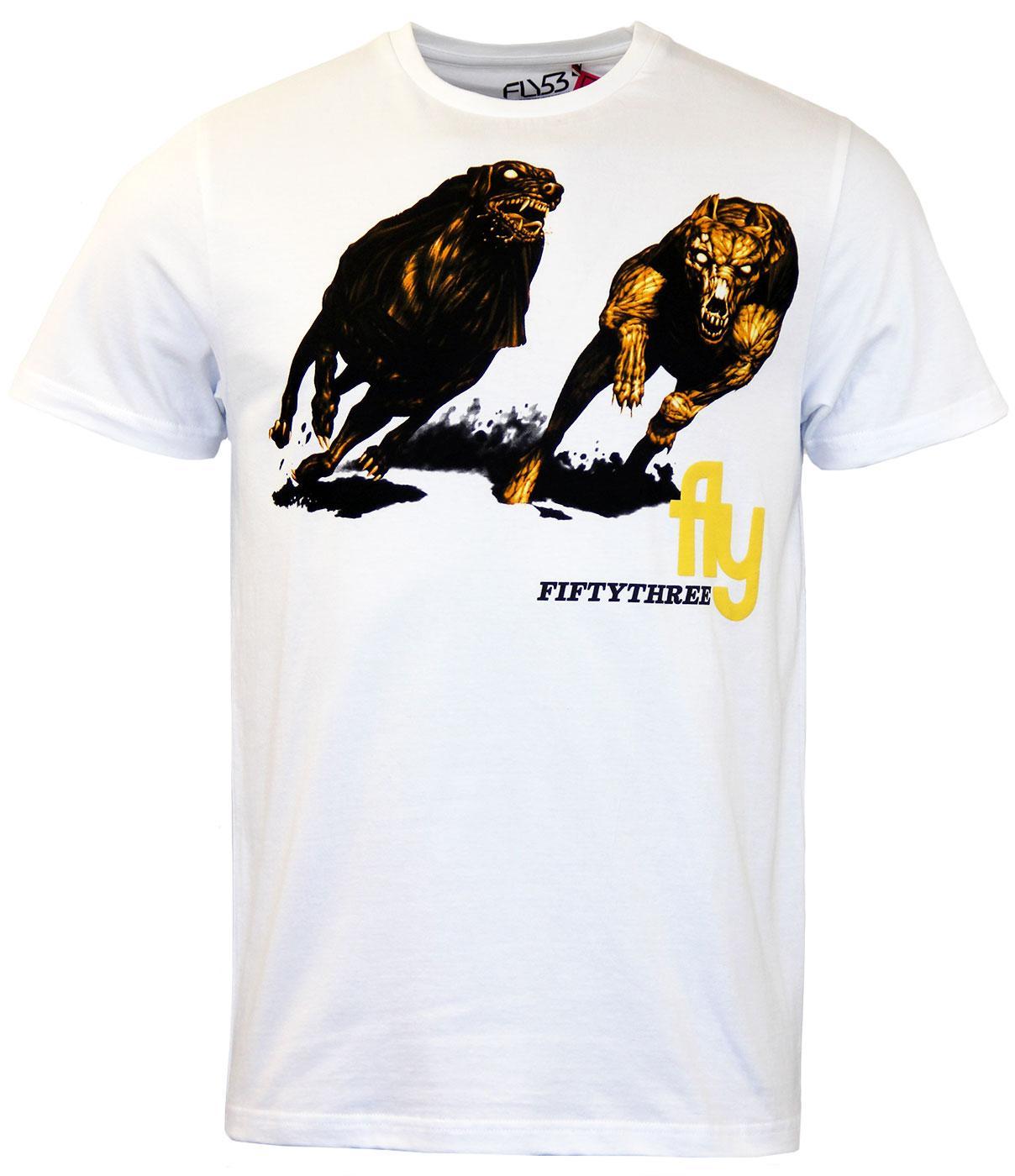 Bark Life FLY53 1990s Britpop Civil War T-shirt