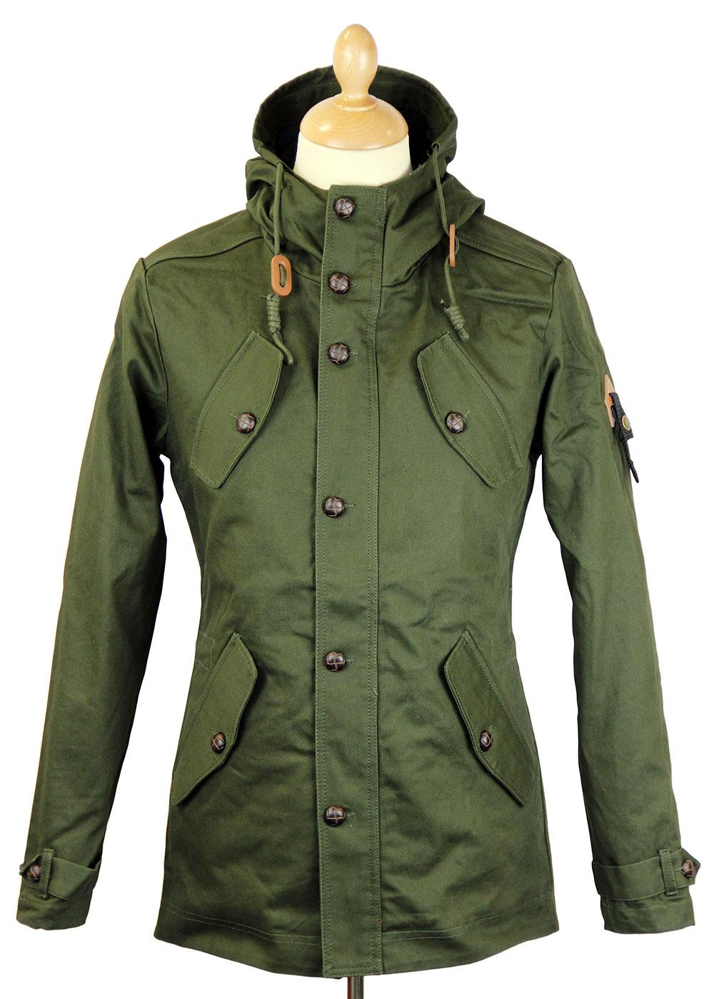Burton FLY53 Retro Indie Mod Fishtail Parka (O)
