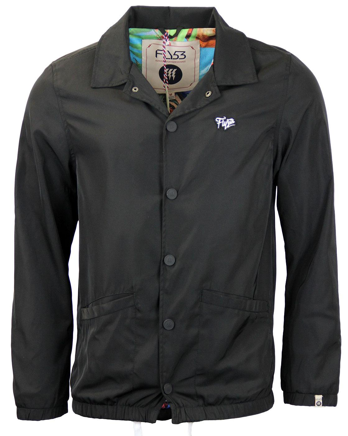 Velocirapter FLY53 Retro Longline Coaches Jacket