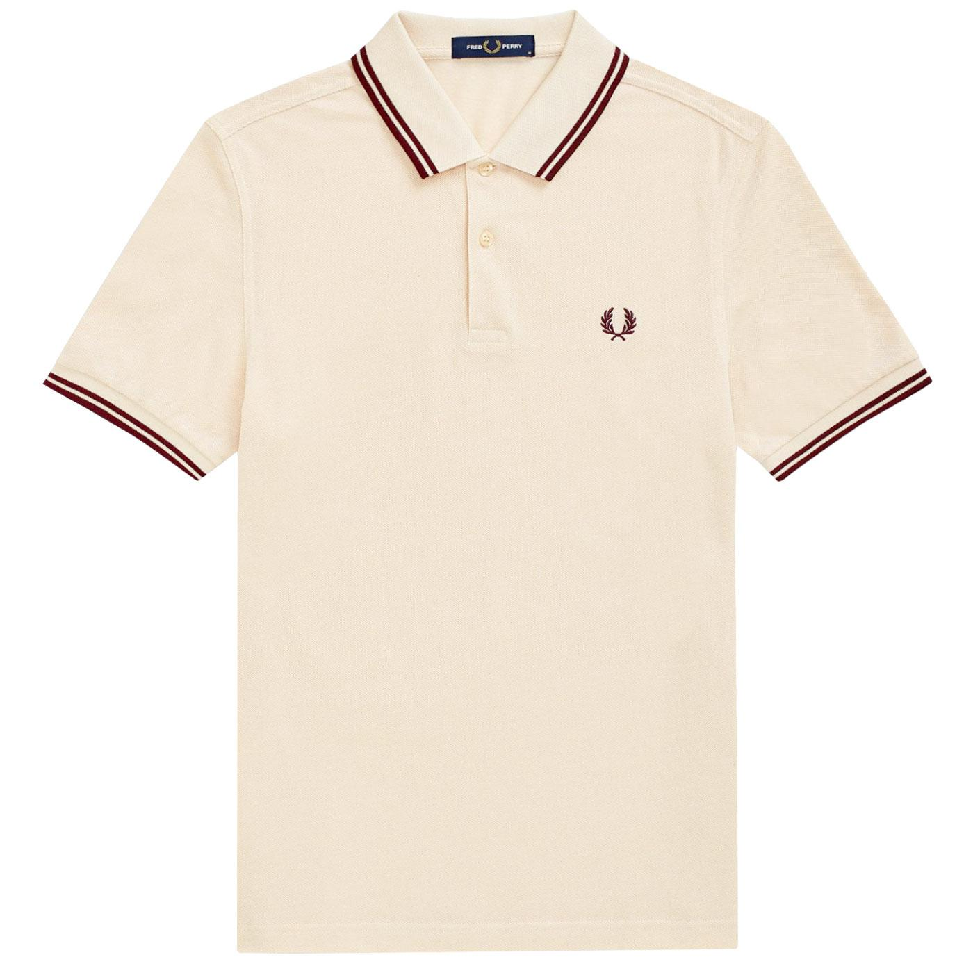 FRED PERRY M3600 Mens Twin Tipped Pique Polo V