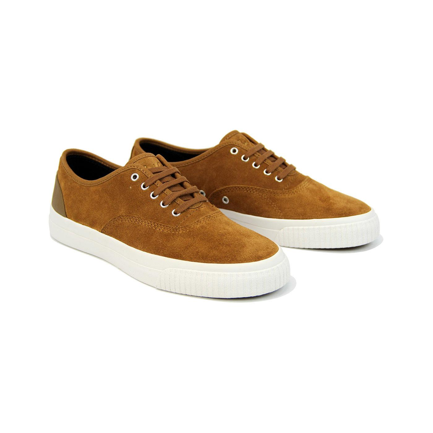 Brason FRED PERRY Men's Retro Suede Trainers