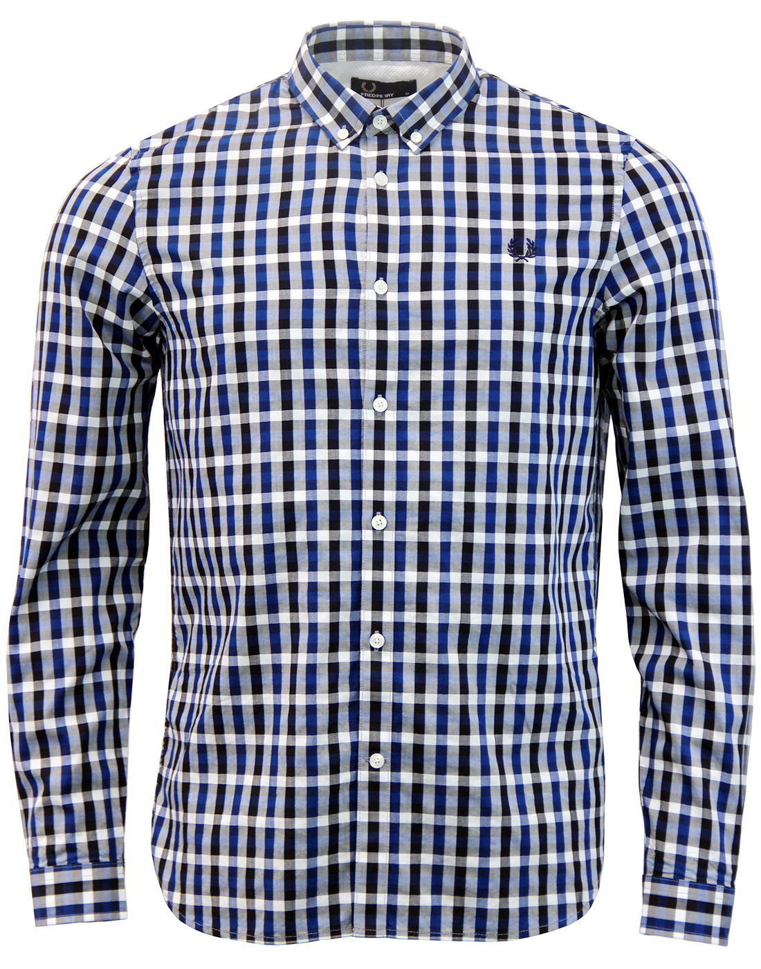 FRED PERRY Mod Gingham Check Button Down Shirt