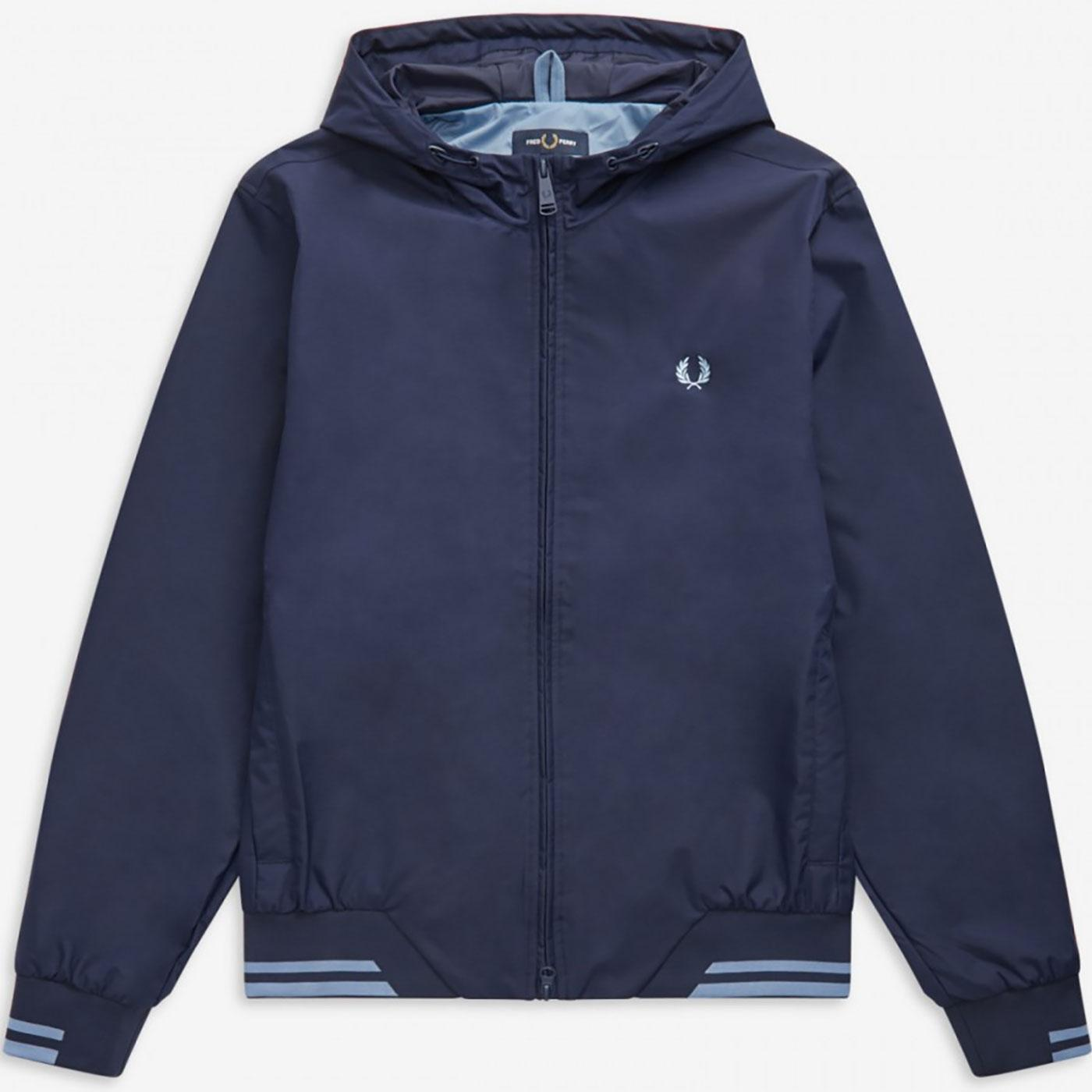 Brentham FRED PERRY Retro Indie Hooded Jacket CB