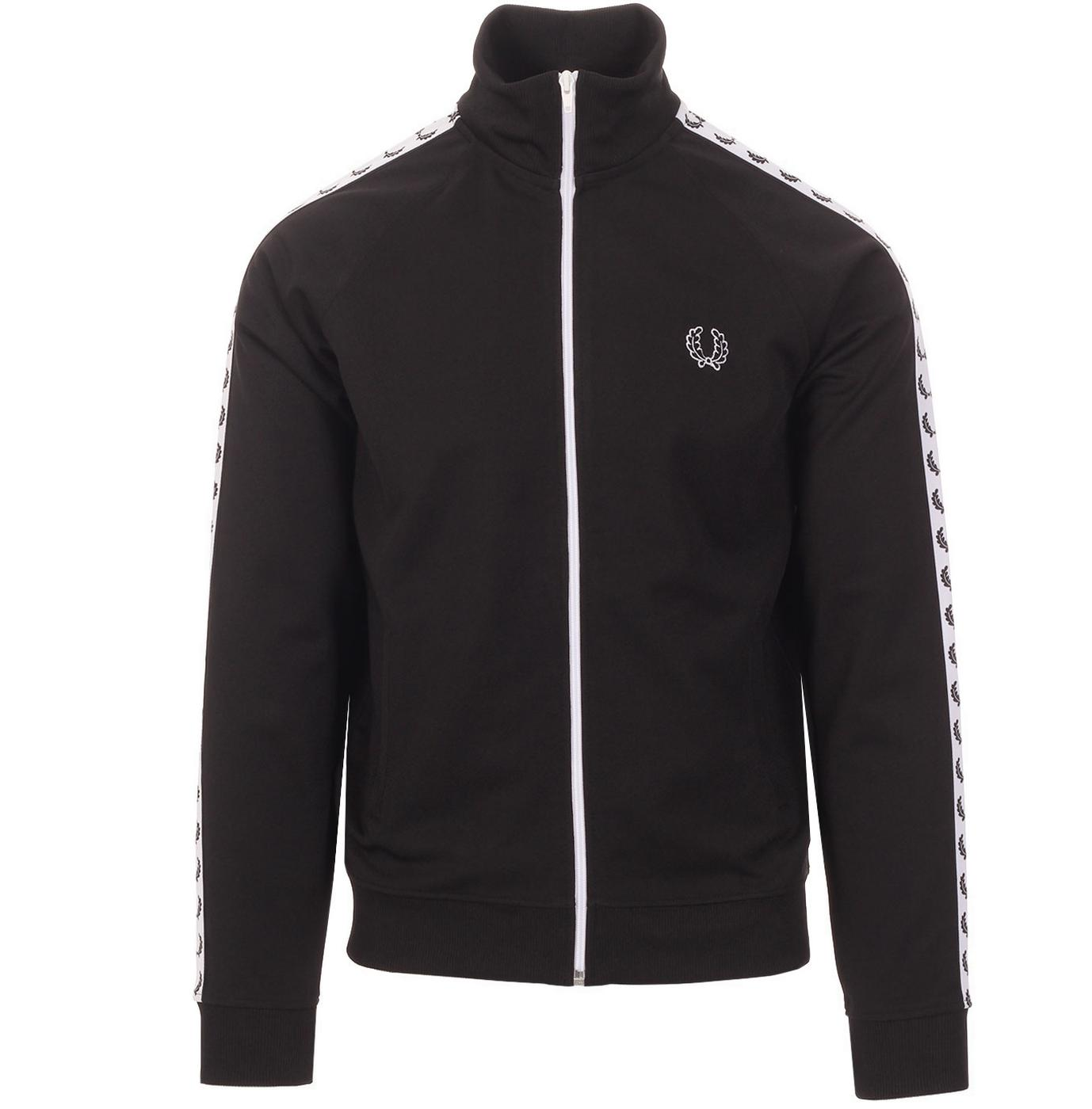 FRED PERRY Men's Laurel Wreath Tape Track Jacket B