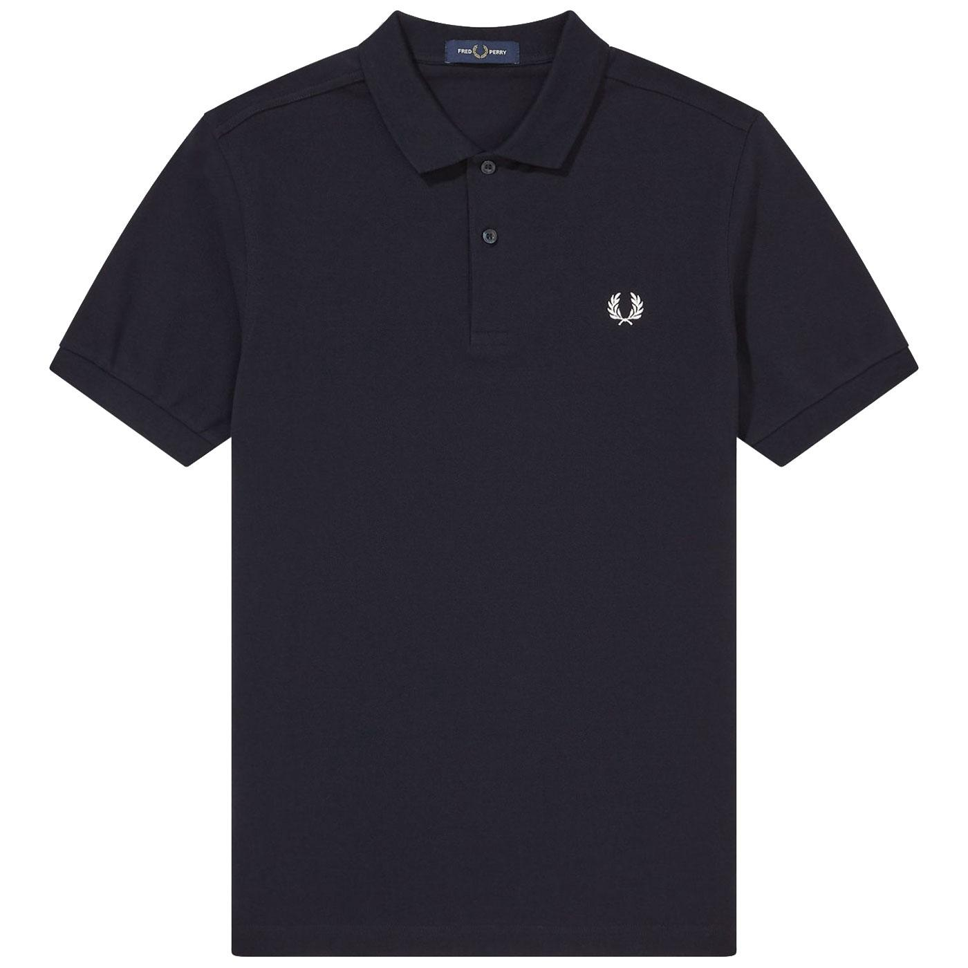 FRED PERRY Men's Retro Slim Fit Pique Polo Shirt N