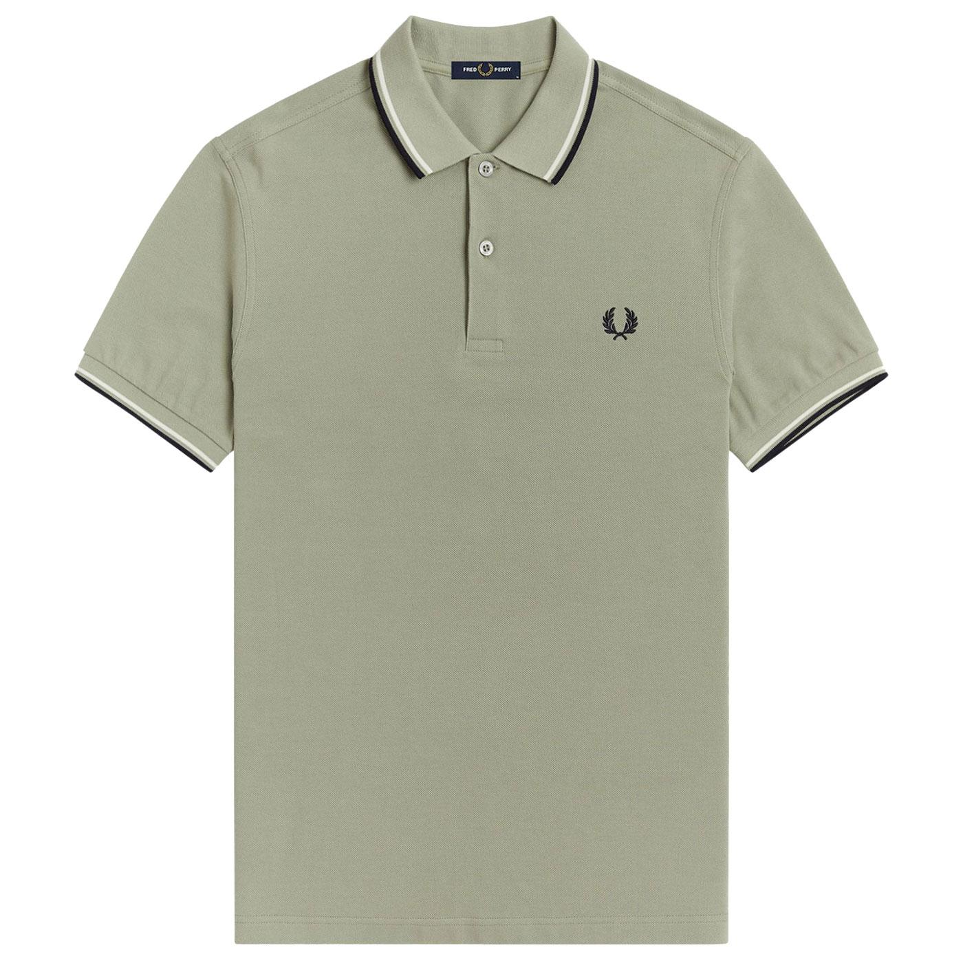 FRED PERRY M3600 Mod Twin Tipped Pique Polo S
