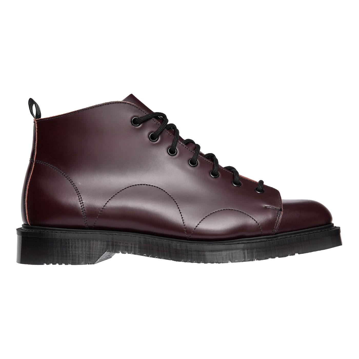 FRED PERRY X GEORGE COX Retro Mod Monkey Boots