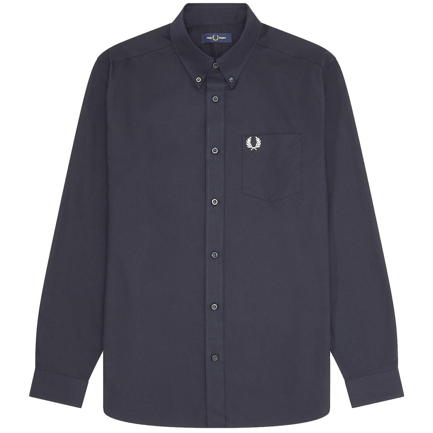FRED PERRY Retro Mod Button Down Oxford Shirt N