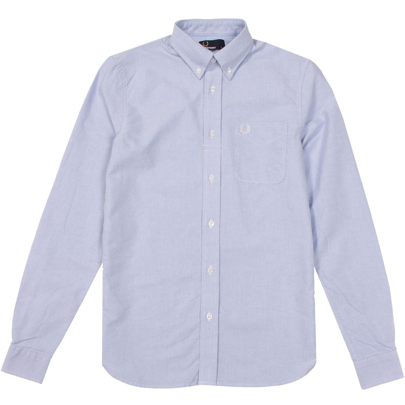 FRED PERRY Classic Retro Button Down Oxford Shirt