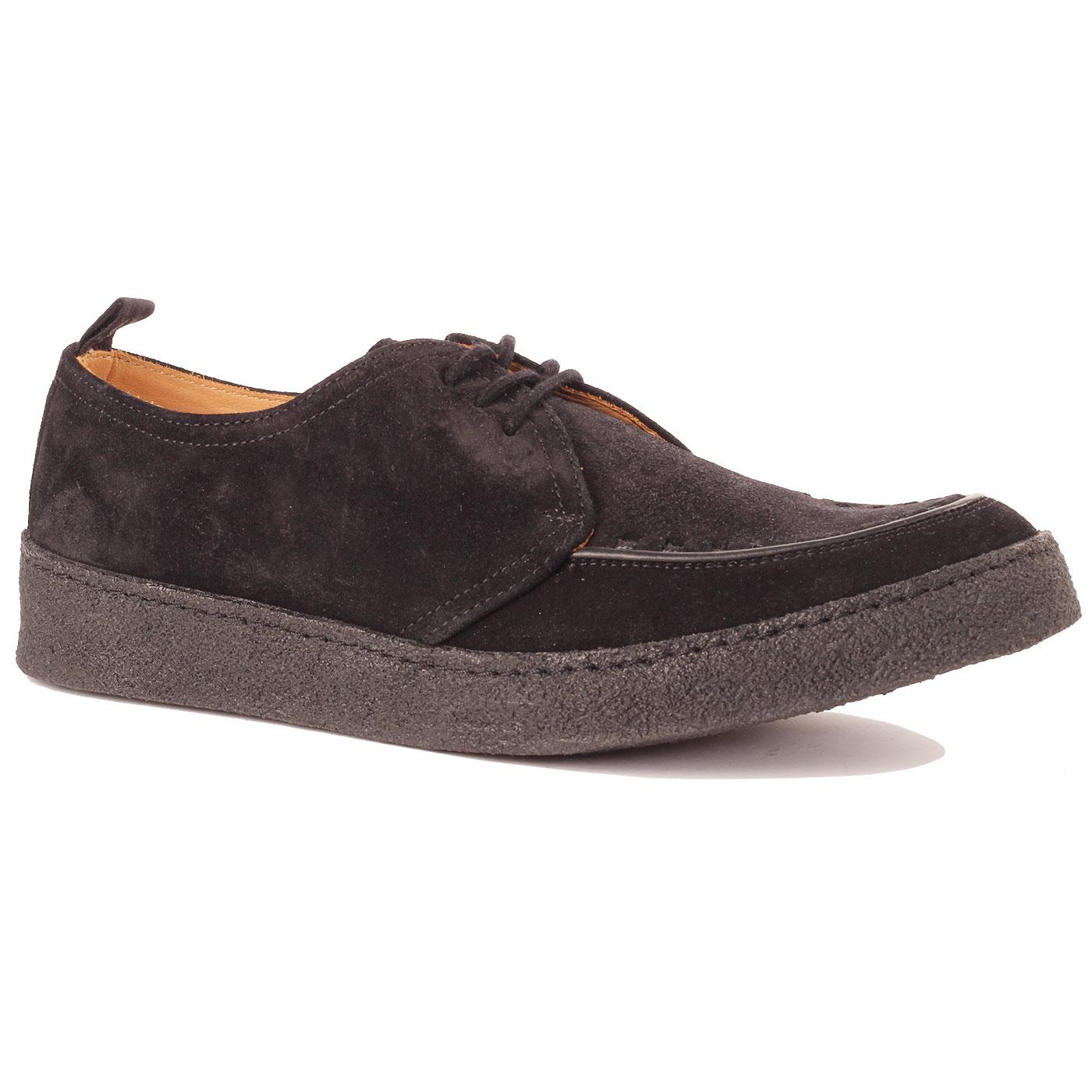 FRED PERRY X GEORGE COX Pop Boy Suede Creepers
