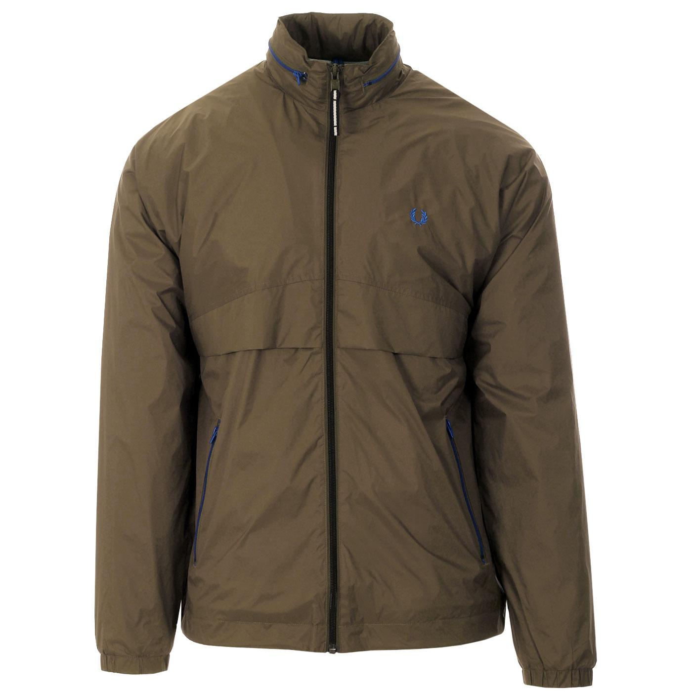 FRED PERRY Pop Colour Zip Up Windbreaker Jacket
